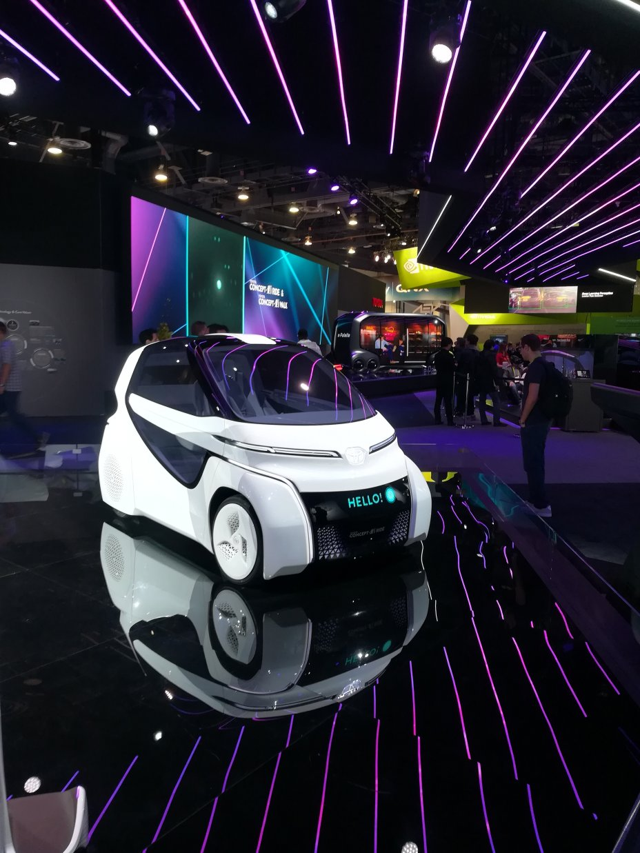 2018 International CES: Las Vegas Convention Center, Sands Expo and Convention Center, ARIA Convention Center 19