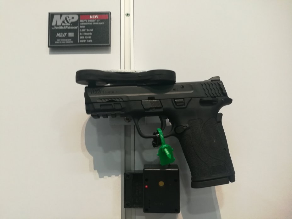 Shot Show 2020: New Guns for 2020 introduced at the NSSF Shot Show, Sands Convention Center, Las Vegas, Nevada 4