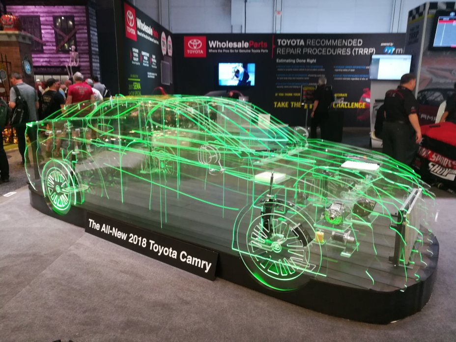 2017 SEMA and AAPEX Show: Las Vegas Convention Center and Sands Convention Center, Las Vegas, Nevada 56