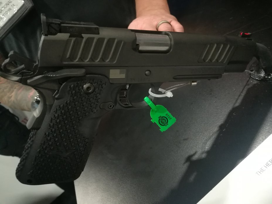 Shot Show 2020: New Guns for 2020 introduced at the NSSF Shot Show, Sands Convention Center, Las Vegas, Nevada 26