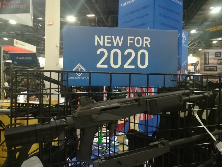 Shot Show 2020: New Guns for 2020 introduced at the NSSF Shot Show, Sands Convention Center, Las Vegas, Nevada 27