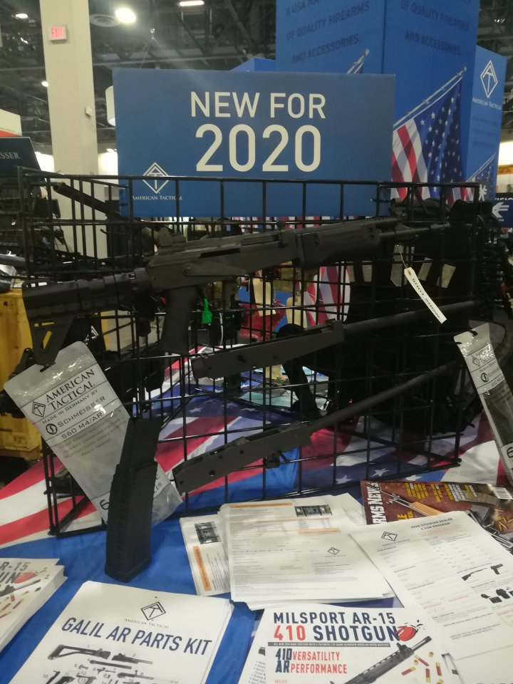 Shot Show 2020: New Guns for 2020 introduced at the NSSF Shot Show, Sands Convention Center, Las Vegas, Nevada 28