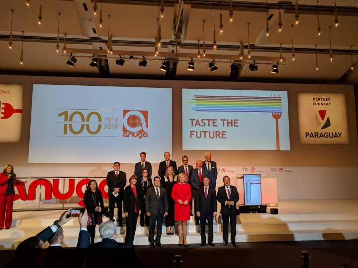 ANUGA 2019: Celebrating 100 years of ANUGA on the pulse of time and the Taste of PARAGUAY (Biennial Fair, Koelnmesse) 16