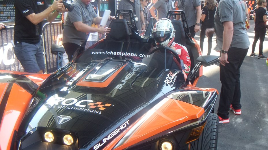 2017 ROC Race of Champions, ROC Nations Cup and America versus the World, Miami, Florida, USA: January 21 to 22, 2017 7