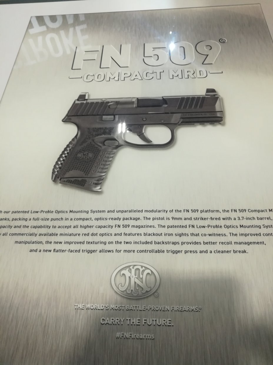 Shot Show 2020: New Guns for 2020 introduced at the NSSF Shot Show, Sands Convention Center, Las Vegas, Nevada 22