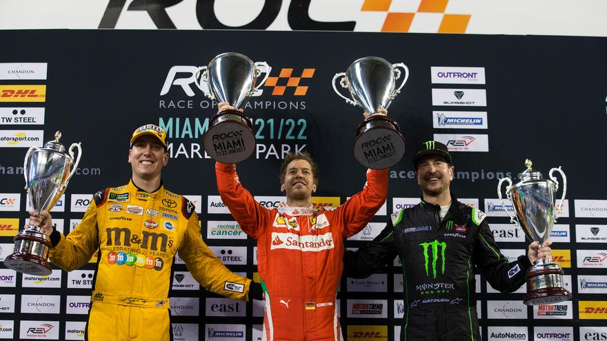 2017 ROC Race of Champions, ROC Nations Cup and America versus the World, Miami, Florida, USA: January 21 to 22, 2017 29
