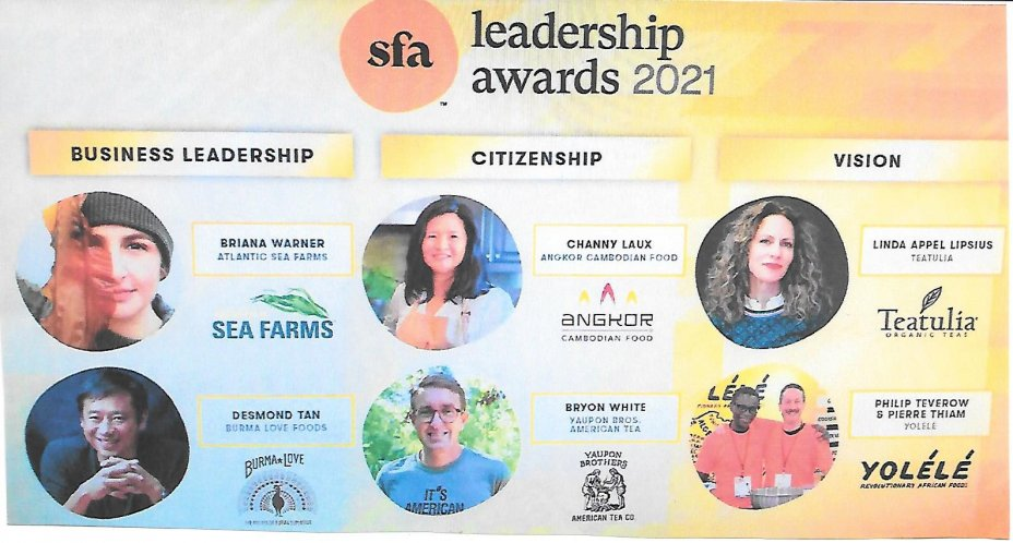 2021 Specialty Food LIVE! January: A Virtual Marketplace and the 2021 SFA Leadership Awards 2