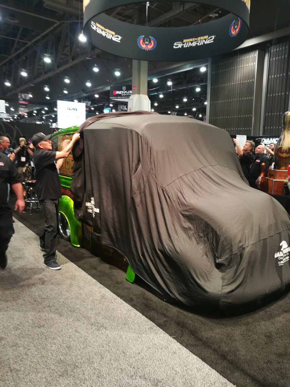 2017 SEMA and AAPEX Show: Las Vegas Convention Center and Sands Convention Center, Las Vegas, Nevada 61